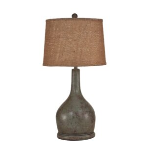 Yarborough Oval Pot with Long Neck 31 Table Lamp