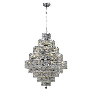 Bratton Contemporary 20-Light Chandelier ..