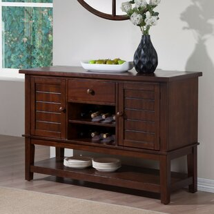 Weigand Expansive Wooden Server by Millwood Pines