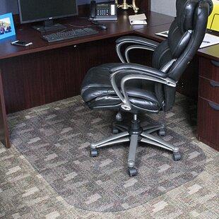 Evolve Modern Rectangle Office Low And Medium Pile Carpet Chair Mat