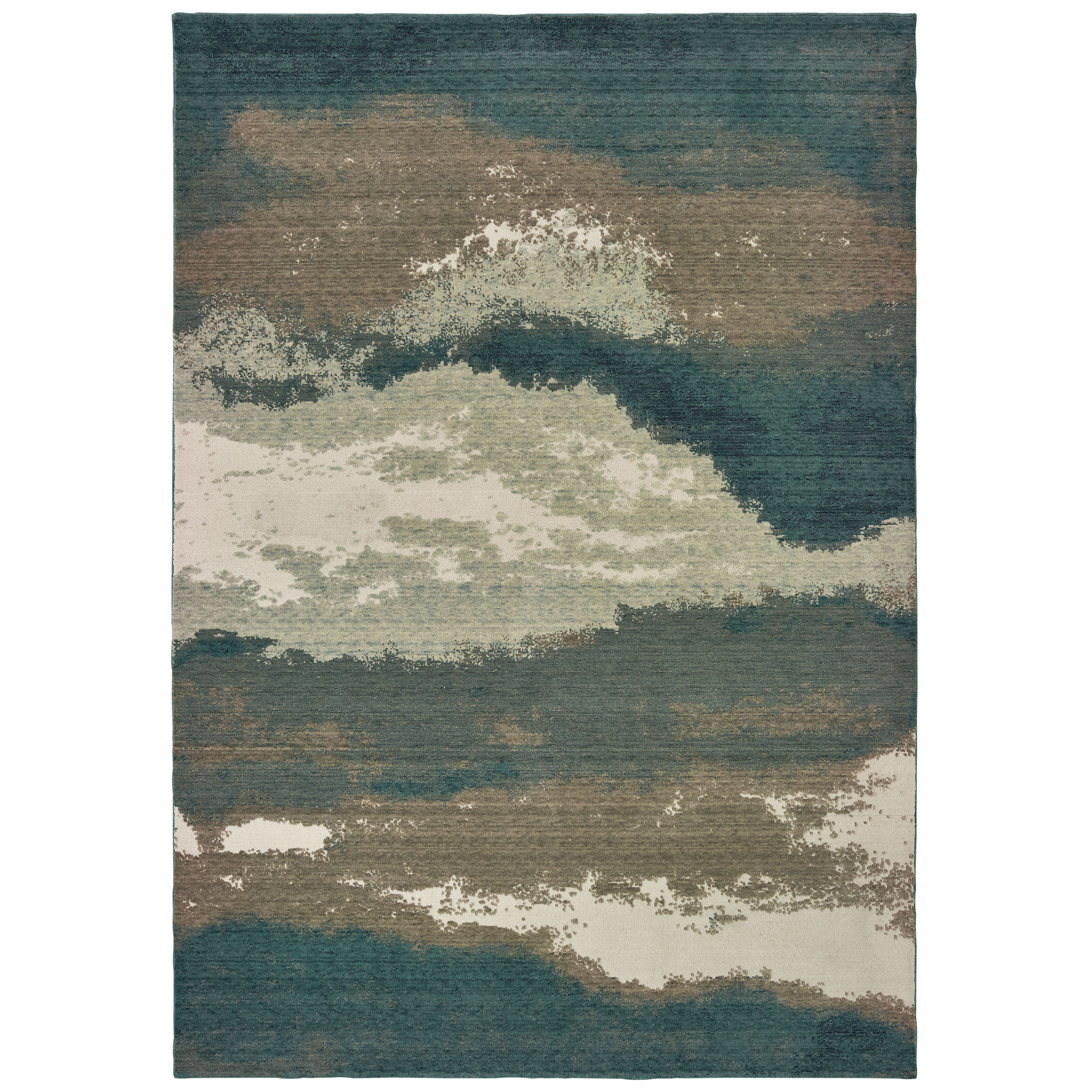 Bronx Blue Bedroom Project: Ivy Bronx Authement Contemporary Casual Blue Area Rug