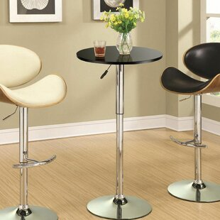 Caruso Adjustable Pub Table by Ebern Designs