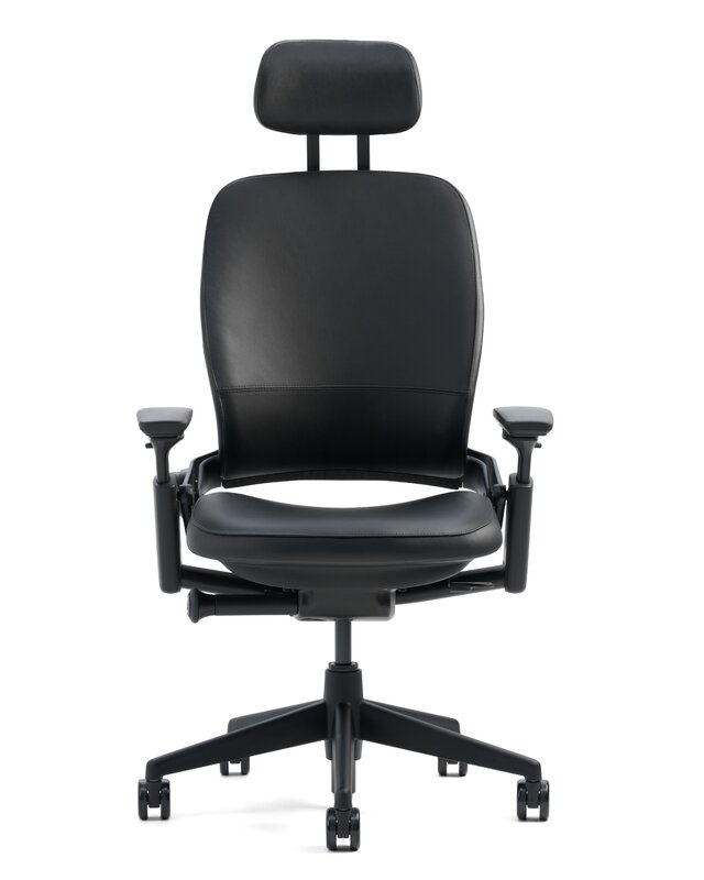 Good Leap® High Back Leather Desk Chair