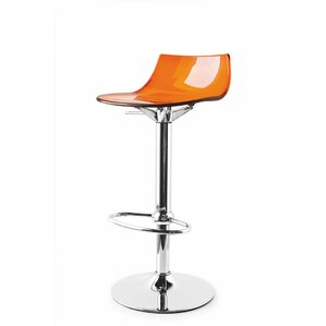 Led Adjustable Height Swivel Bar Stool by Connubia