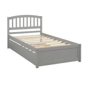 Wozniak Twin Platform Bed with Trundle