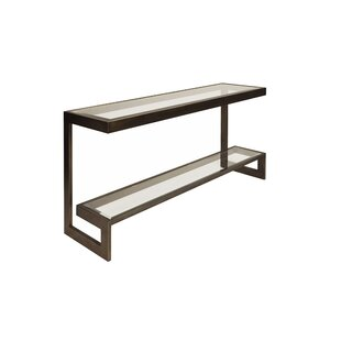 Worlds Away 2 Tier Low Console Table