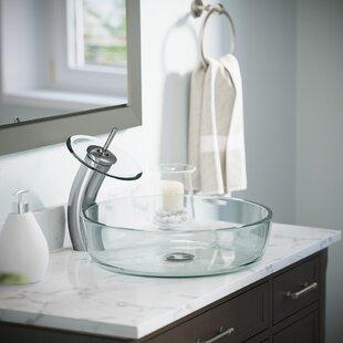 Top Reviews Glass Circular Vessel Bathroom Sink ByMR Direct
