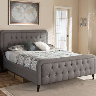 Compare Dascomb Upholstered Platform Bed by Alcott Hill Reviews (2019) & Buyer's Guide