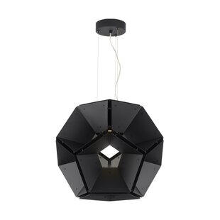 Rafe 1-Light LED Geometric Pendant by Brayden Studio