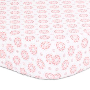 Big Save Floral Fitted Crib Sheet By The Peanut Shell