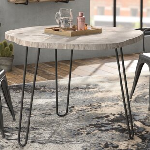 Avaline Solid Wood Dining Table Williston Forge