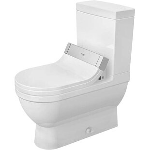 Duravit Starck 3 1.28 GPF (Water Efficient) Elongated Two-Piece Toilet (Seat Not Included)
