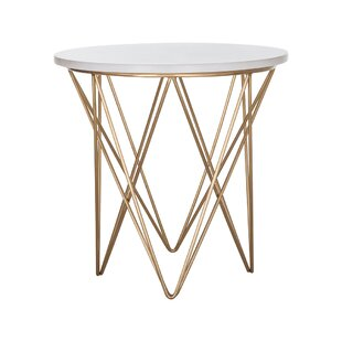 Riley End Table by Everly Quinn