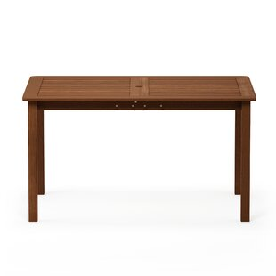 Arianna Solid Wood Dining Table by Langley Street