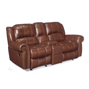 Hooker Furniture Entertainment 2 Glider Leather Reclining Sofa