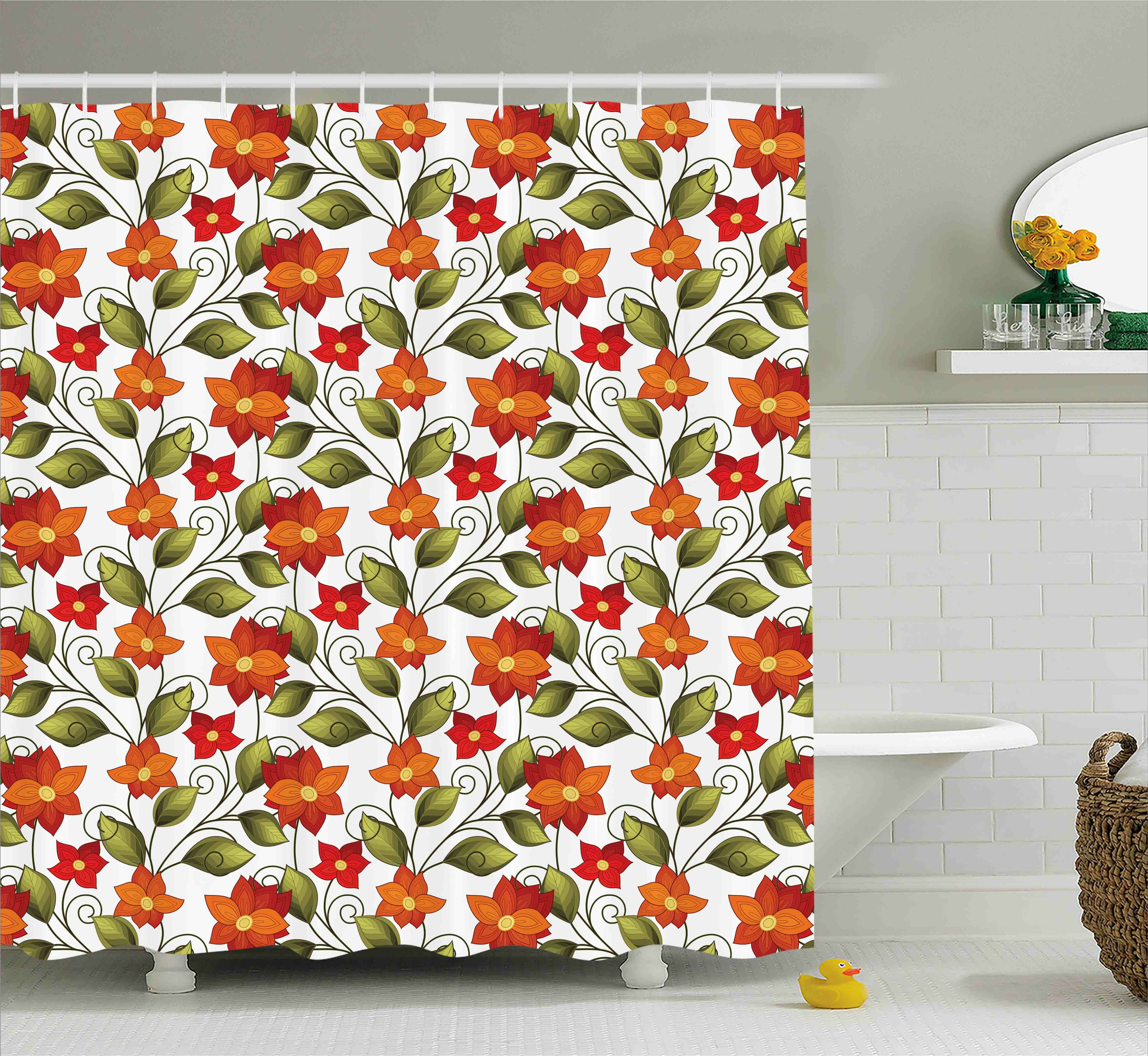 Winston Porter Canterbury Boho Herbs Lily Nature Shower Curtain