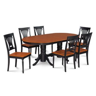 Darby Home Co Inwood 7 Piece Carved Dining Set