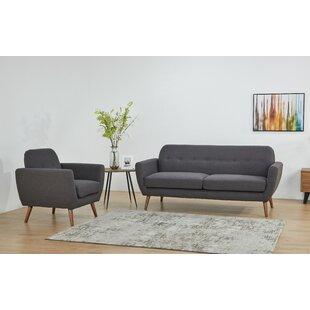 Burnsville 2 Piece Living Room Set by Corrigan Studio
