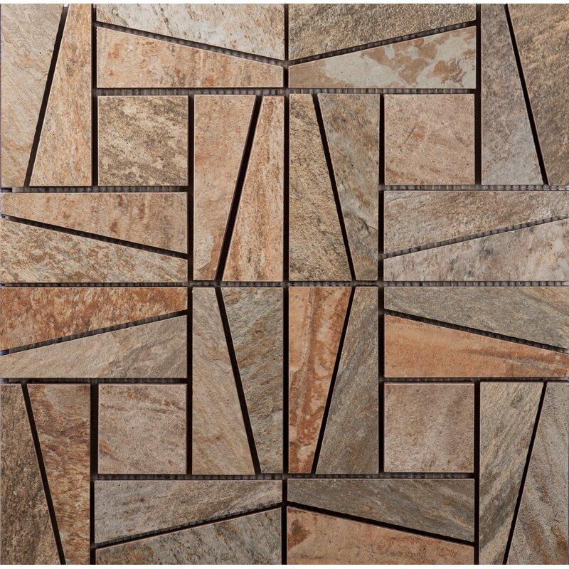 Ceramic Mosaic Tile In Supremo Winter