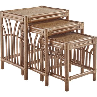 Bay Isle Home Stough 3 Piece Nesting Tables