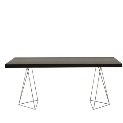Brayden Studio Durkee Dining Table Color: Wenge, Size: 71