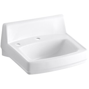 Buying Greenwich Ceramic 21 Wall Mount Bathroom Sink By Kohler