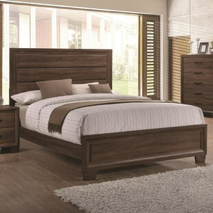 Union Rustic Omeara Panel Bed