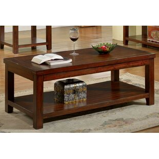 Robidoux Coffee Table by Millwood Pines