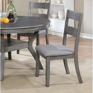Baumgarten Upholstered Dining Chair (Set of 2) Gracie Oaks