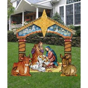 Outdoor Nativity Sets You Ll Love Wayfair