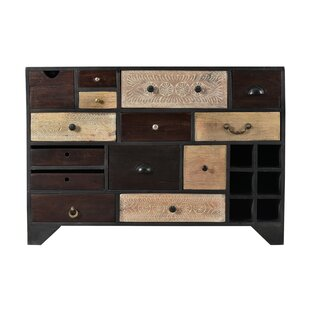 Veasley Server Bar with Wine Storage by Bungalow Rose