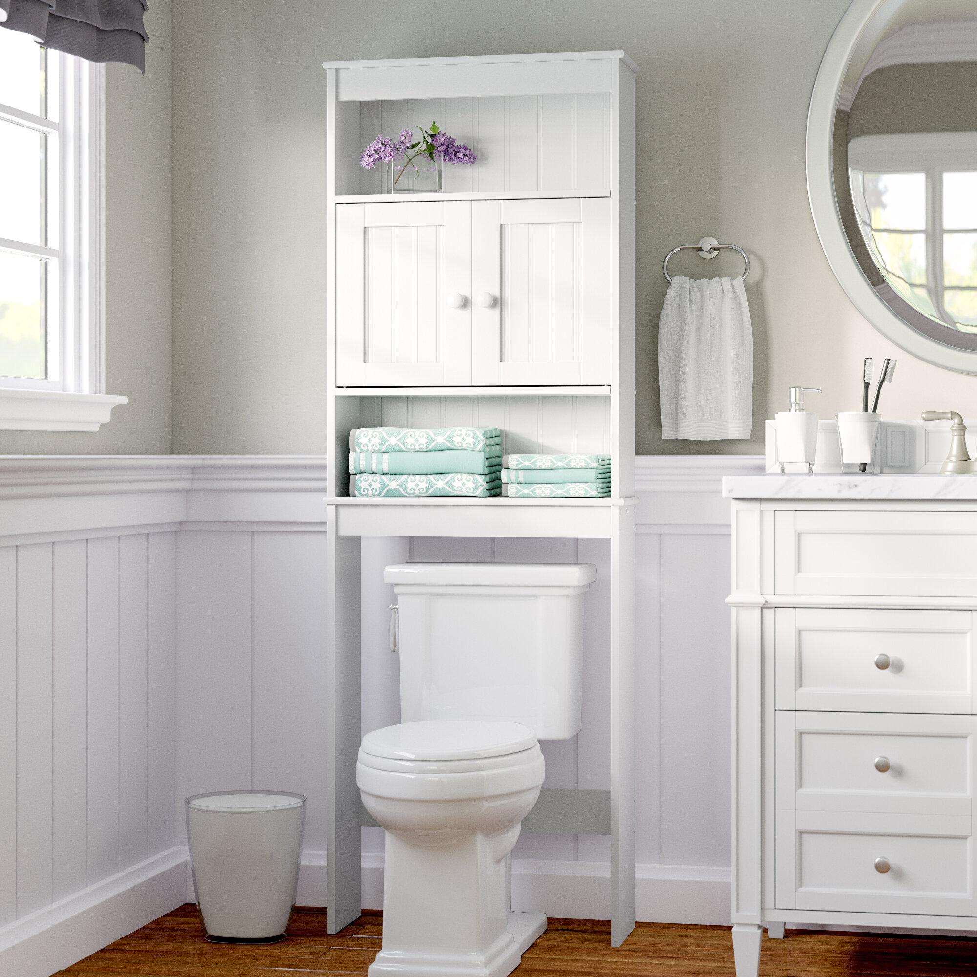 W X 66 5 H Over The Toilet Storage