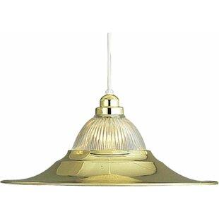 Roth 1-Light Cone Pendant ..