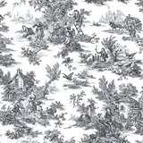 image SantaMarina Champagne Toile 33' L x 20.5 W Wallpaper Roll by Ophelia & Co.