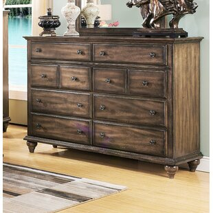 Van Buren 8 Drawer Double Dresser by Greyleigh