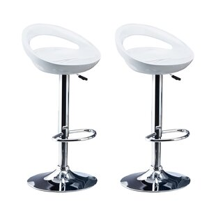 Berndt Adjustable Bar Stool Set (Set Of 2) By Metro Lane