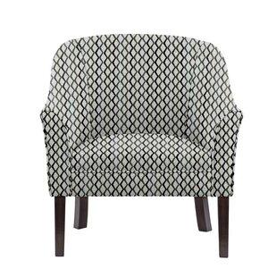 Woodman Barrel Chair by Gracie Oaks