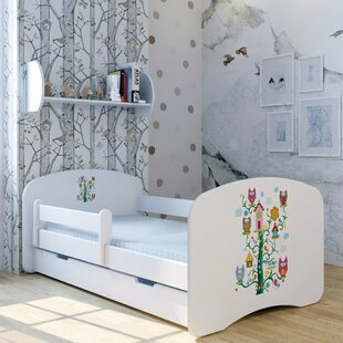 Treehouse II Bed With Mattress And Drawer By Zoomie Kids