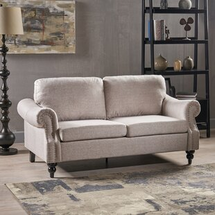 Athey Microfiber Standard Loveseat by Canora Grey Find