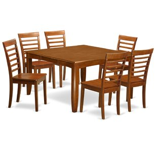Parfait 7 Piece Extendable Dining Set by Wooden Importers Designt