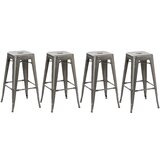 Natalia 30 Bar Stool (Set of 4) by Williston Forge