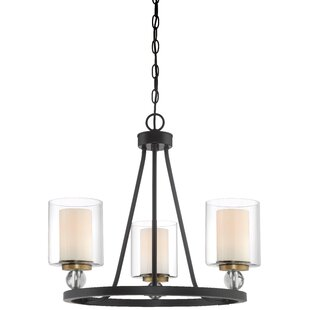 Minka Lavery Studio 5 3-Light Candle-Style Chandelier