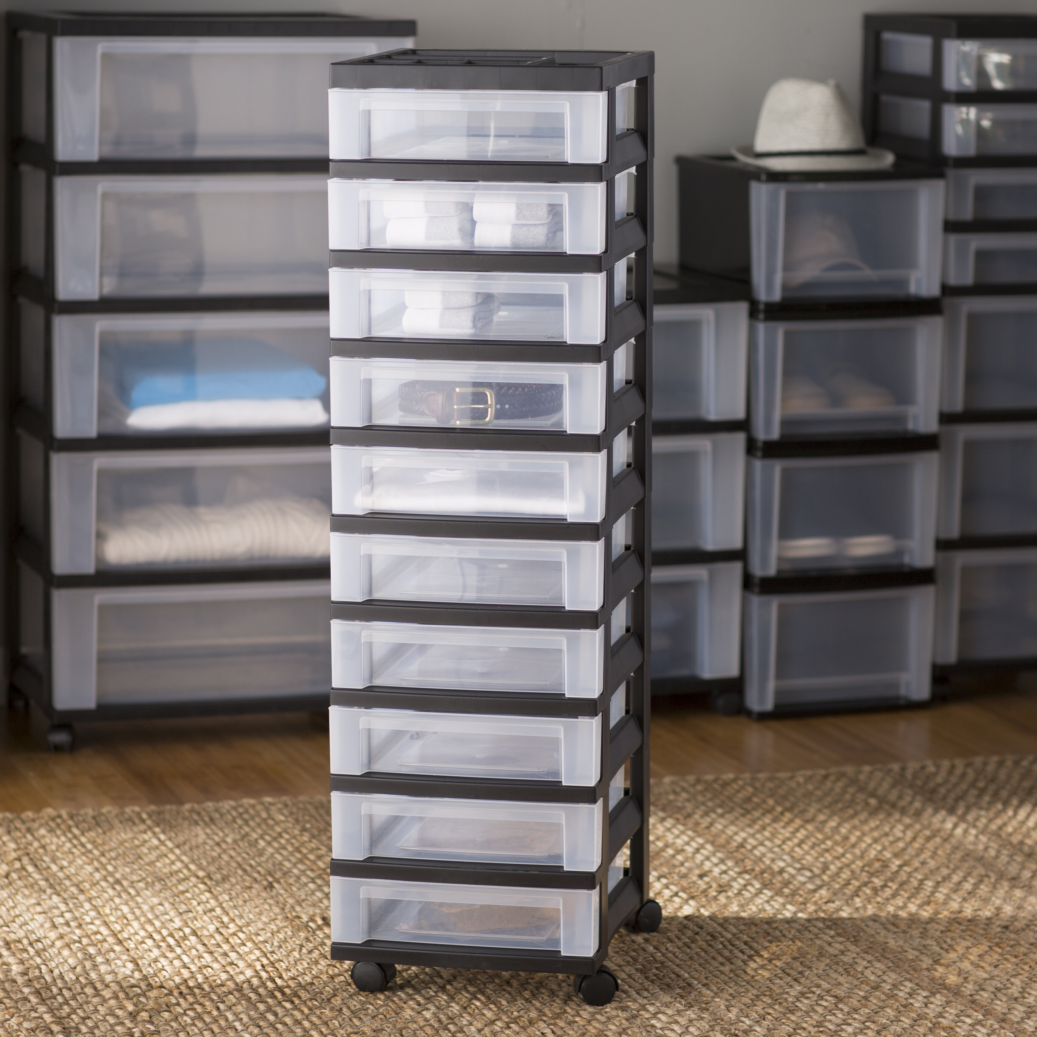 Zita Basics 10 Drawer Storage Chest