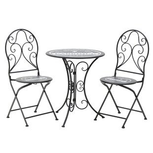 Yuri Dining Set With 2 Chairs By Lily Manor