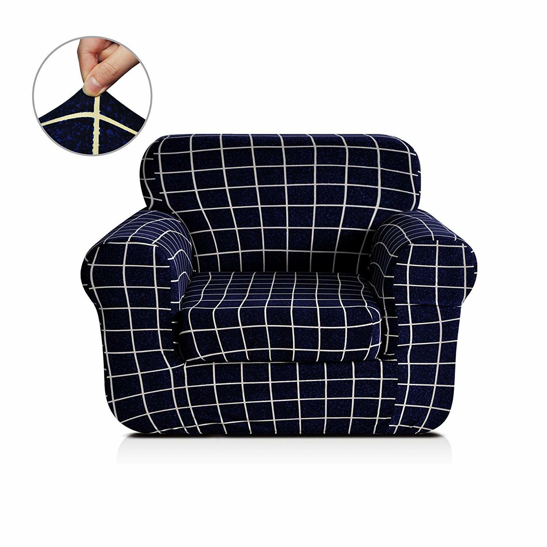 Astounding Printed Box Cushion Armchair Slipcover Customarchery Wood Chair Design Ideas Customarcherynet