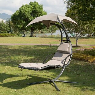 Krish Outdoor Porch Swing with Stand Air Porch Canopy