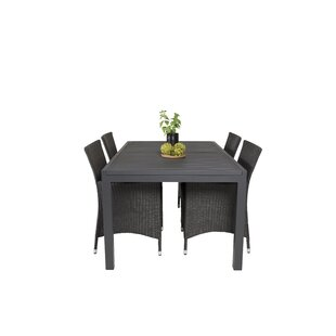 Geir 4 Seater Dining Set With Cushions By Sol 72 Outdoor