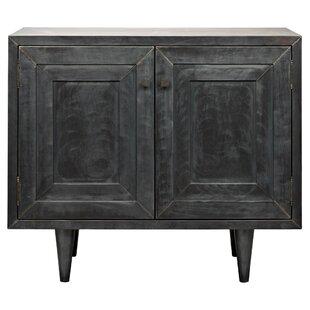 Yves 2 Door Accent Cabinet by Noir