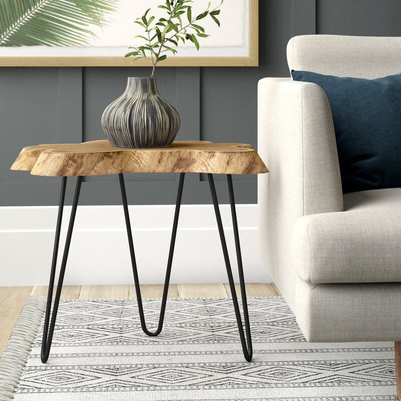 Joss Main Hoekstra 3 Legs End Table Reviews Wayfair