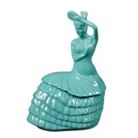 Dancing Lady 2 qt. Cookie Jar -  Fiesta, 1446107
